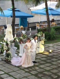 Khởi My - Kelvin Khánh xuất hiện như 'công chúa, hoàng tử' trong đám cưới