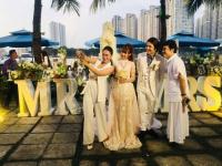 Kelvin Khánh thề nguyện, ngọt ngào 'khóa môi' Khởi My trong tiệc cưới