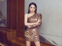 Hoa hậu Hương Giang rạng ngời khí chất trong ngày trở lại Thái Lan