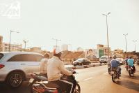 Người bán nước mát đắt hàng từ sáng đến tối, khi Sài Gòn bước vào những ngày nắng nóng kỷ lục