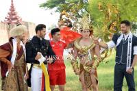 Đại diện Việt Nam 'đọ' trang phục dân tộc với các nước ở Mister International 2018