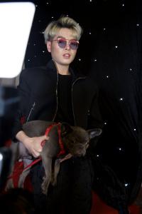 Có ai như Đức Phúc, mượn chó mới mua của Hoà Minzy để gây chú ý trên thảm đỏ rồi chê hôi