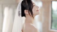 Cận váy cưới đẹp lung linh của Nhã Phương trước giờ diễn ra hôn lễ với Trường Giang