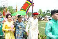 Nhà thờ Tổ 100 tỷ của Hoài Linh được trang hoàng lộng lẫy, rực rỡ sắc màu trước giờ cúng Tổ