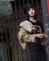 Jolie Nguyễn độc chiếm mọi ánh nhìn, nổi bần bật ở ngày cuối London Fashion Week 2018