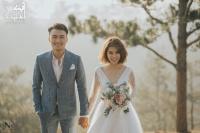 Lộ ảnh cưới lãng mạn của Xuân Phúc - team Minh Hằng và bà xã hot girl