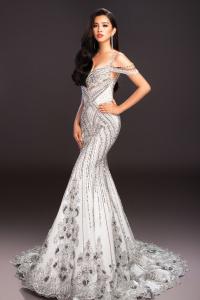Lộ diện trang phục dạ hội của Hoa hậu Trần Tiểu Vy ở Miss World 2018