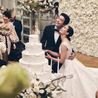 Chiêm ngưỡng 3 bộ váy cưới giúp 'vợ già' Puttichai hóa công chúa cực xinh trong ngày trọng đại
