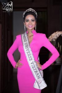 Dàn sao Việt lộng lẫy đến chúc mừng H'Hen Niê trước giờ lên đường dự thi Miss Universe 2018