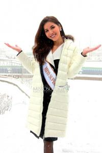 Minh Tú được Missosology phỏng vấn ngay ngày đầu tiên ở Hoa hậu Siêu quốc gia 2018
