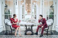 Vừa lộ thiệp cưới, Ưng Hoàng Phúc Kim Cương lại khiến nhiều người xuýt xoa với hình cưới lung linh