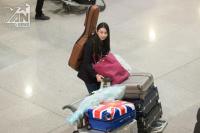 Người đẹp nhân ái Thùy Tiên lặng lẽ về nước sau Chung kết Miss International 2018