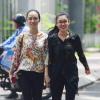 Chùm ảnh hoa hậu Phương Nga, Thùy Dung xuất hiện sau 45 ngày tại ngoại