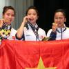 Mãn nhãn với chùm ảnh các cô gái vàng taekwondo Việt Nam đã