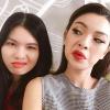 Sự khác biệt lớn giữa nhan sắc của Tú Hảo và em gái