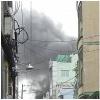 Căn nhà bốc cháy ngùn ngụt sau tiếng sét đánh kinh hoàng ở Sài Gòn