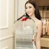 Trở về an toàn từ vùng lũ Yên Bái, Hoa hậu Đỗ Mỹ Linh gấp rút thử trang phục cho Miss World 2017