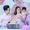 Vân Trang cùng chồng đại gia tổ chức sinh nhật hoành tráng cho