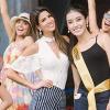 Huyền My và dàn thí sinh Hoa hậu Hòa bình Quốc tế tất bật tập luyện cho đêm Bán kết