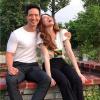 Từ khi hẹn hò đến giờ, Kim Lý mới khoe ảnh chụp cùng Hồ Ngọc Hà