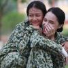 Mai Ngô tích cực trang điểm mọi lúc, Khả Ngân tự tin để mặt mộc trong quân ngũ