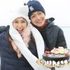 Ngô Kiến Huy tổ chức sinh nhật lãng mạn cho Khổng Tú Quỳnh trên núi