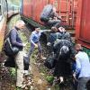 Sạt lở ở đèo Hải Vân, đường sắt Bắc - Nam tê liệt
