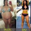 Loạt ảnh chứng minh chỉ cần giảm cân bạn sẽ trở thành