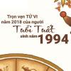 2018 của người tuổi Tuất 1994: năm của sự biến chuyển về mọi mặt