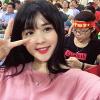 Điểm mặt những fan nữ làm 'dậy sóng' khán đài bóng đá Việt 2017