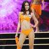 Sau bao ngày chờ đợi, Mâu Thủy cũng dẫn đầu một hạng mục ở Hoa hậu Hoàn vũ Việt Nam