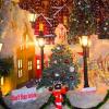 """""""Khu nhà giàu"""" Sài Gòn trang hoàng biệt thự lộng lẫy đón Noel"""
