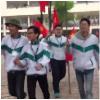 Màn ăn mừng U23 Việt Nam siêu oách của hàng trăm học sinh THPT ở Thái Nguyên
