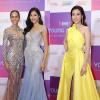 Hoa hậu H'Hen Niê diện váy xuyên thấu cùng dàn mỹ nhân Việt