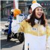 Trời lạnh -10 độ, Thanh Hằng vẫn đẹp hết phần người khác tại Thế vận hội mùa đông 2018