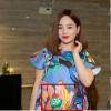 Sau đính hôn với bạn trai Tây cao 2m, Lan Phương tiết lộ đang mang thai 5 tháng
