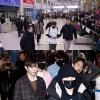 Dàn trai đẹp Wanna One tiều tụy giữa sân bay sau sự cố fan hâm mộ bị bắt