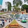 Sài Gòn: Đường Tôn Đức Thắng dần trở nên khác lạ sau khi chặt hạ và di dời cây xanh