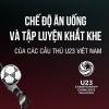 Bí kíp tăng cường thể lực của tuyển U23 Việt Nam để có được chiến thắng lịch sử trước Iraq