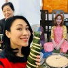 Sao Việt nô nức gói bánh chưng, bánh tét đón Tết Mậu Tuất