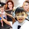 Những khoảnh khắc cực đáng yêu của các nhóc tì nhà sao Việt khi đi cắt tóc