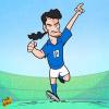 Biếm hoạ bóng đá châu Âu: CR7