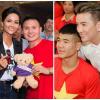 Dàn sao Việt hào hứng hội ngộ các cầu thủ U23 Việt Nam tại TP.HCM