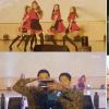 Hài hước trước phản ứng của quân nhân Hàn khi các nhóm thần tượng nữ bất ngờ ghé thăm