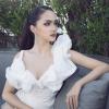 Hoa hậu Chuyển giới Hương Giang đẹp lộng lẫy quay quảng cáo ở Thái Lan