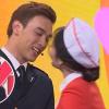 Trương Thế Vinh mếu mặt, Trường Giang, Tiến Luật tức điên khi Thuận Nguyễn được hôn môi Nam Em