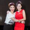 Trà My Idol, Trang Pháp xinh đẹp đi ủng hộ Thu Minh chấm thi