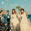 Xúc động đám cưới đồng tính đẹp như mơ tại bãi biển Bình Thuận của hai cô gái từng là tình địch
