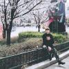 Đi Hàn Quốc cùng Miu Lê nhưng Gil Lê - Chi Pu lại chụp ảnh cùng địa điểm thì phải