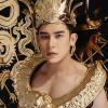 Lộ diện trang phục dân tộc dát vàng nặng 40kg của đại diện Việt Nam ở Mister International 2018